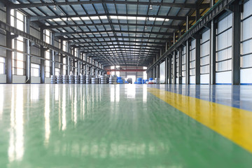 Cold rolled strip, in spacious workshop