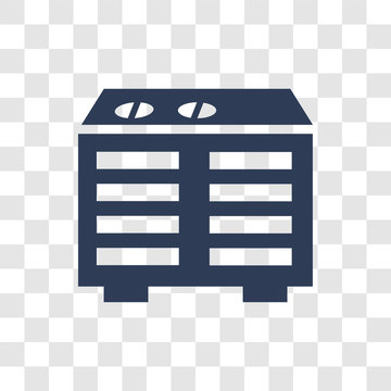 Heating Unit icon vector