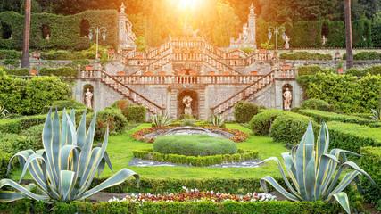 Wall Mural - Garden, Tuscany, Itally