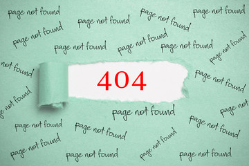 404 - page not found