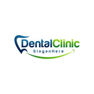 Dental Logo Design. Creative Dentist Logo. creative dental clinic logo. dental vector.