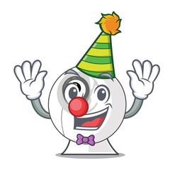 Clown cartoon webcam in funny that shape