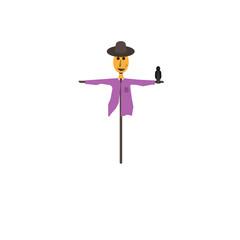 Scarecrow vector graphics
