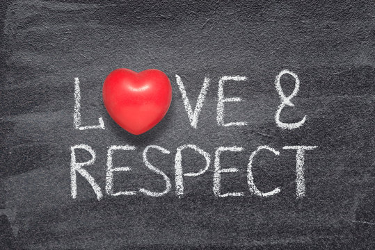 love and respect heart