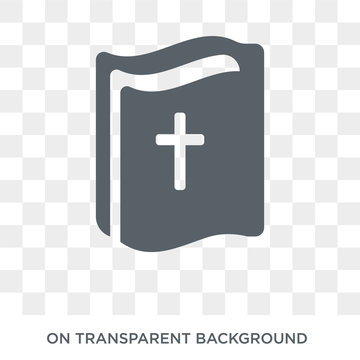 gospel icon. Trendy flat vector gospel icon on transparent background from Religion collection. High quality filled gospel symbol use for web and mobile