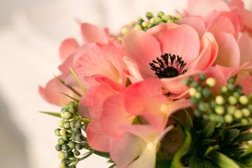 elegant interior bouquet in a vase