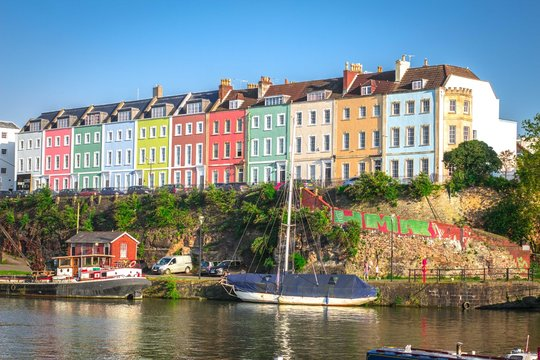Clifton is a beautiful neighbourhood of Bristol – it's a bit upmarket and has lots of artisan coffee and middle-class residents.