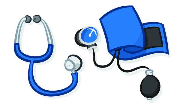 stethoscope sphygmomanometer manual blood pressure
