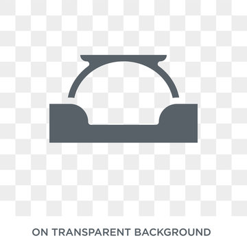 Arc icon. Arc design concept from  collection. Simple element vector illustration on transparent background.