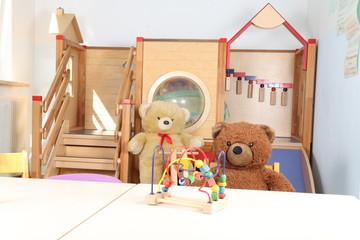 Kita ohne Personal nur mit Spielzeug