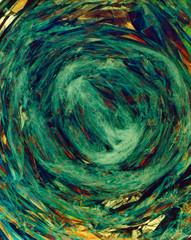Fractal design texture wallpaper green yellow marble