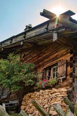 Alpe - Allgäu - Chalet - Alm - Hütte - urig