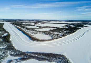 Aerial view of 6633 Arctic Ultra, 2018. Fototapete