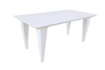 Wood white coffe table