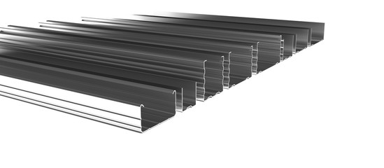 Dry Wall Profiles Render