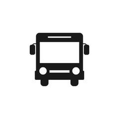Bus icon graphic design template vector