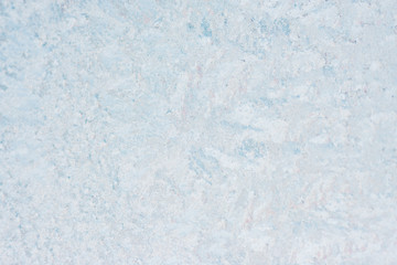 Ice background, frozen water with glass. Winter texture. Copy space