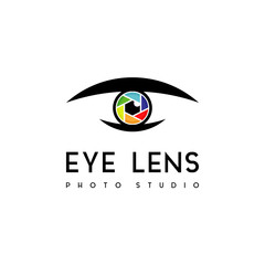 Eye Lens Photography Studio Logo