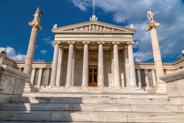 Printed kitchen splashbacks Exterior view of the Academy of Athens, Greece