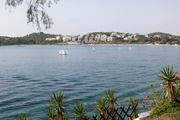view of the island from the other side