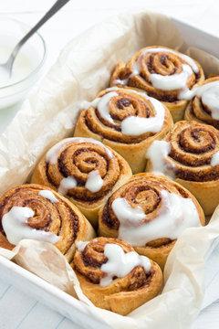 Cinnamon rolls or cinnabon