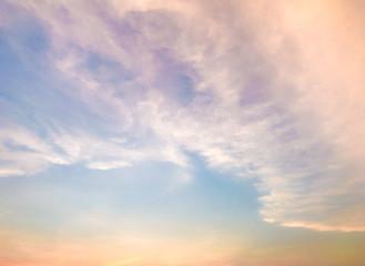 Sky with Vintage Tones,Warm tones