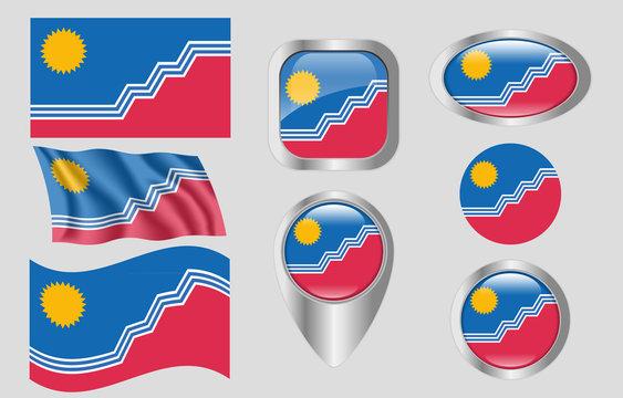 Flag of Sioux Falls, South Dakota