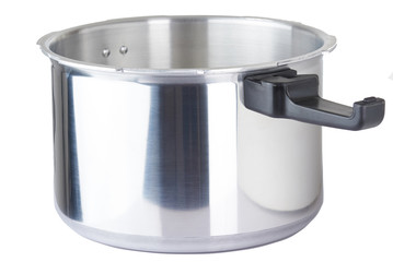 Metal pot for cooking