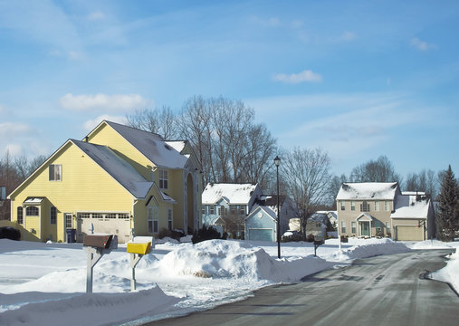 Quiet residental neighborhood
