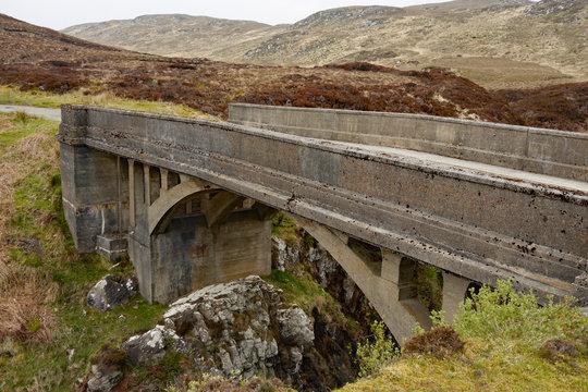 Bridge to nowhere, Isle of Lewis, outer hebrides