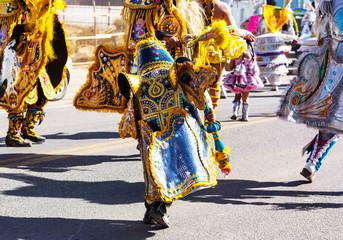 Foto op Canvas Zuid-Amerika land Carnival in Peru