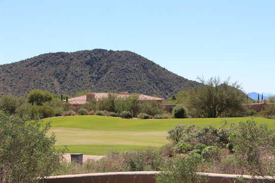 Golf course homes in North Scottsdale