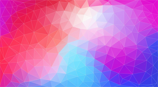 Flat triangle multicolor geometric wallpaper for yor work