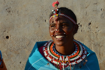 Traditional Samburu Woman