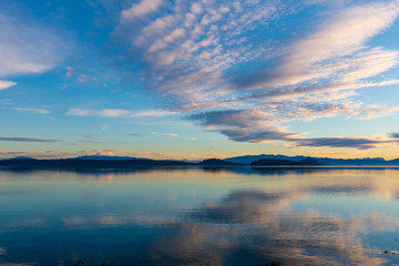 Dugualla Bay & Mount Baker, Whidbey Island, WA