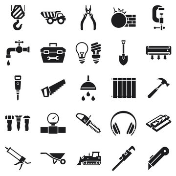 Construction Building Icons