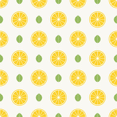 Fruits pattern, colorful summer background