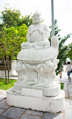 DA NANG SCENERY - Linh Ung Temple - The Eighteen Arhats