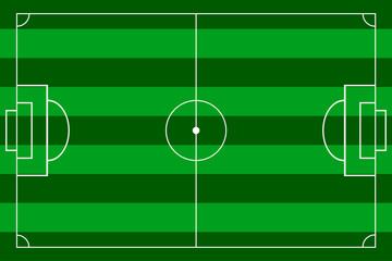 football field.horizontal marking.