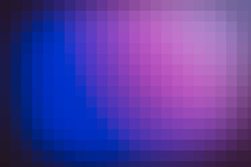 Blue and purple gradient polygonal background