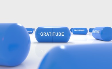 Gratitude attitude pill
