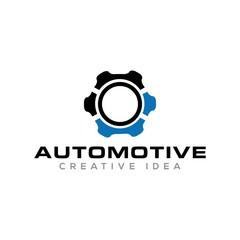 Automotive Unique Logo Design Template