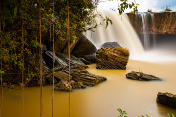 The Dray Nur waterfalls, Dak Lak, Province, Vietnam