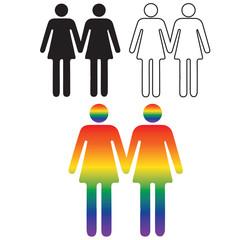 Icon-Human Same Sex Relationships