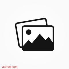 Image icon logo, illustration, vector sign symbol for design