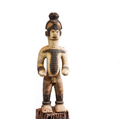 African ethnic wood carving from TANZANIA
