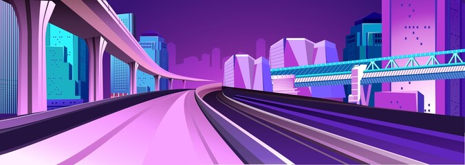 abstract buildings banner