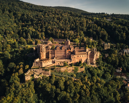 Heidelberg Schloss Sommer