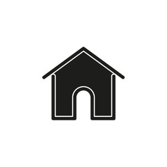 Simple Home Vector Icon