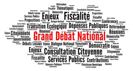 Grand débat national nuage de mots